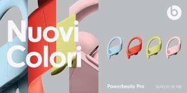Su Amazon i nuovi Powerbeats Pro nei colori estivi sono già in sconto